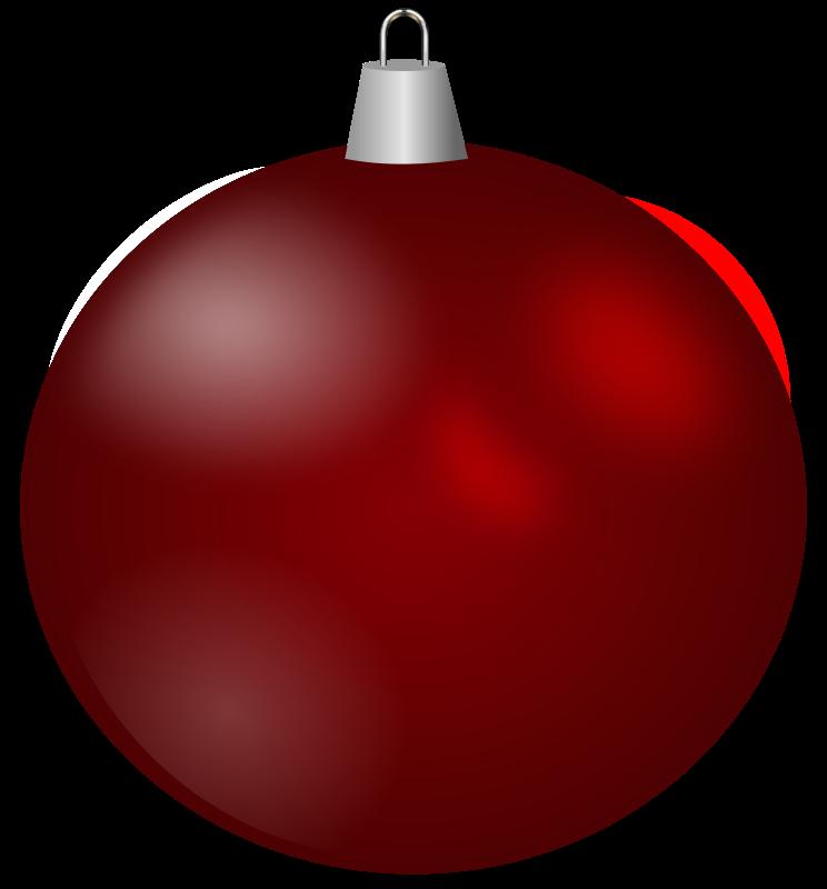744x800 Free Clipart Christmas Ball Ornaments
