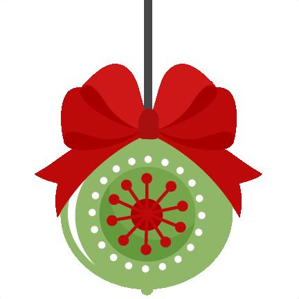 432x432 Silhouette Christmas Ornament Clip Art Merry Christmas Amp Happy