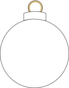 234x298 Christmas Ornament Clip Art Black And White – Merry Christmas And