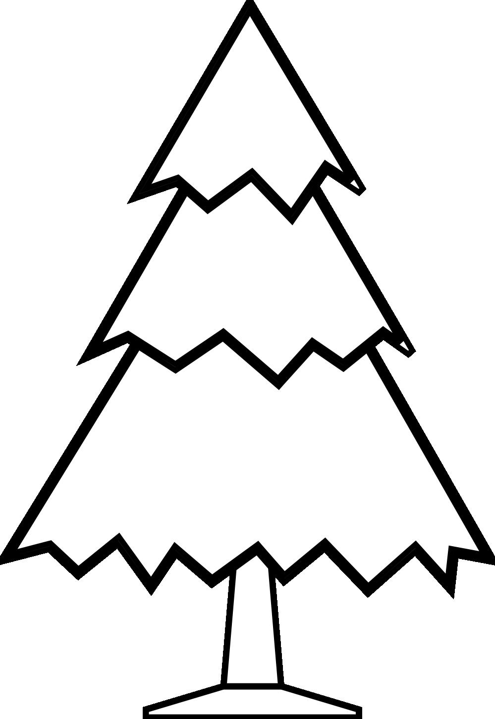 999x1452 Clip Art Xmas Christmas Tree Clipart Panda