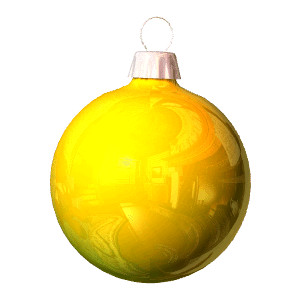 300x300 Christmas Ornaments clipart gold