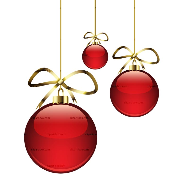 800x800 Elegant Christmas Ornament Clipart