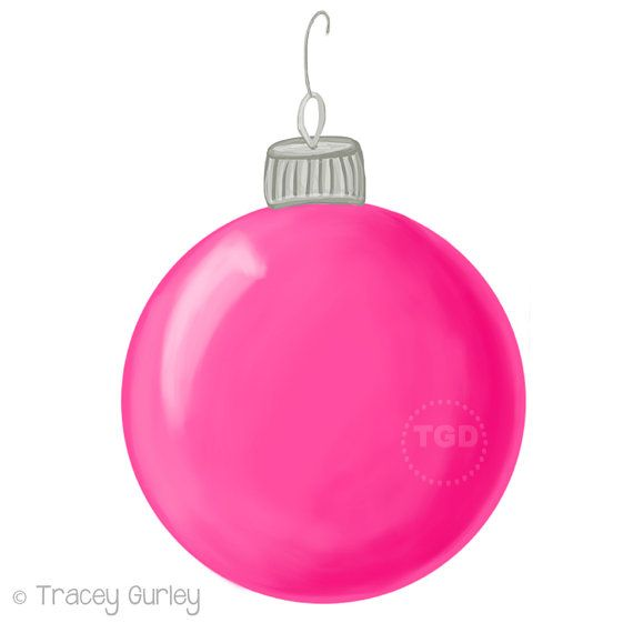 570x570 Pink Christmas Ornaments Clip Art (44+)