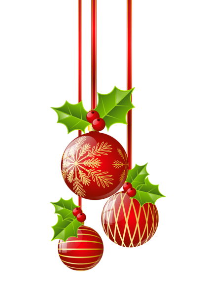 424x600 christmas ornament border clipart free