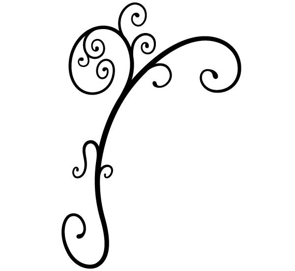 600x550 Free Ornament Clip Art Image 123freevectors