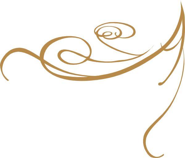 600x514 Interior Designs Clipart Gold Swirls