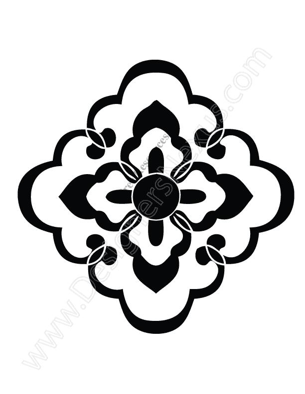 612x792 V11 Free Download Ornament Vector Clip Art