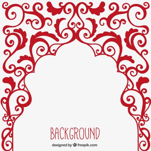 626x626 Arabic Ornament Background Vector Free Download