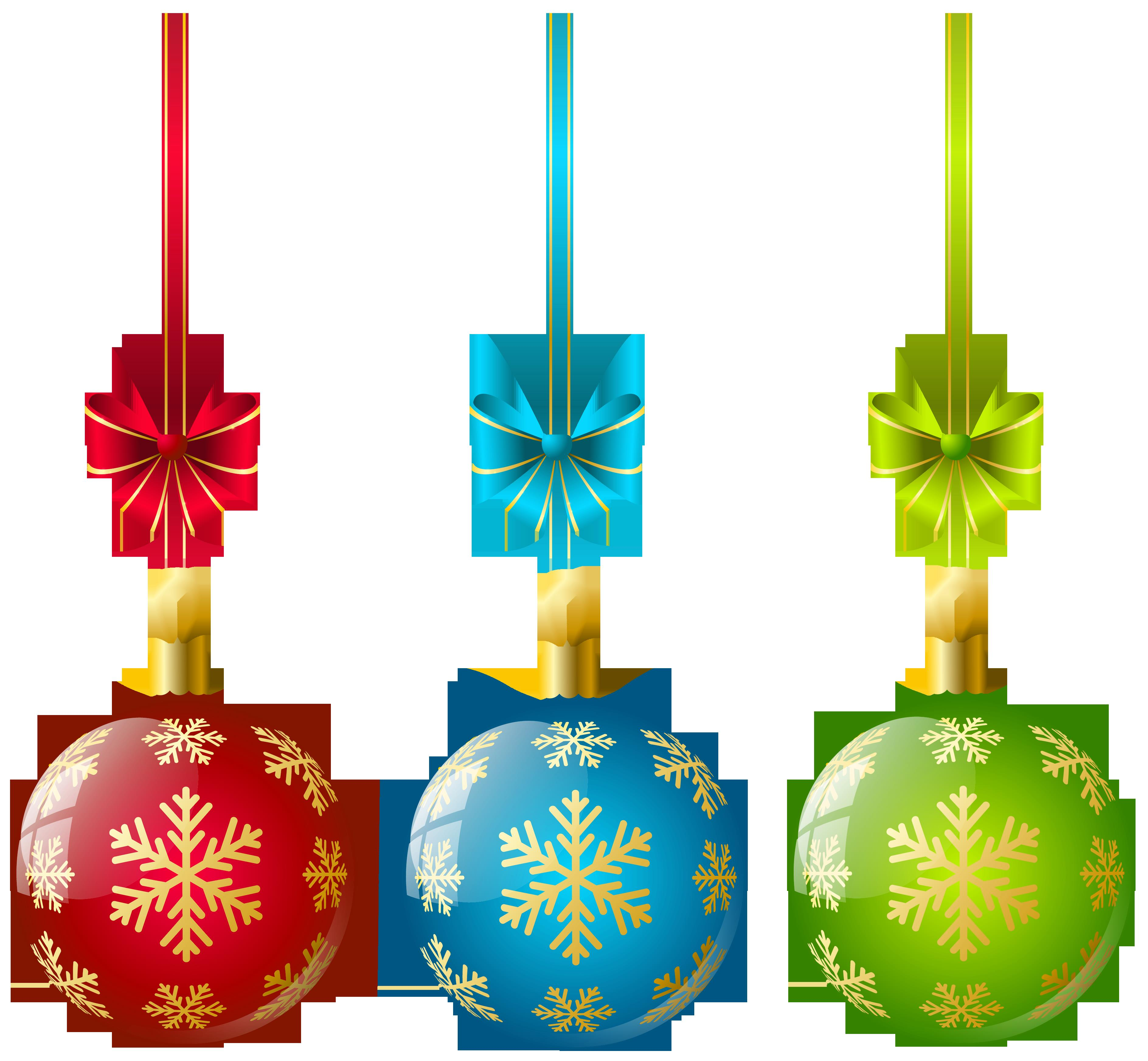 3775x3487 Christmas Ornaments Clip Art Free Images Halloween Amp Holidays Wizard