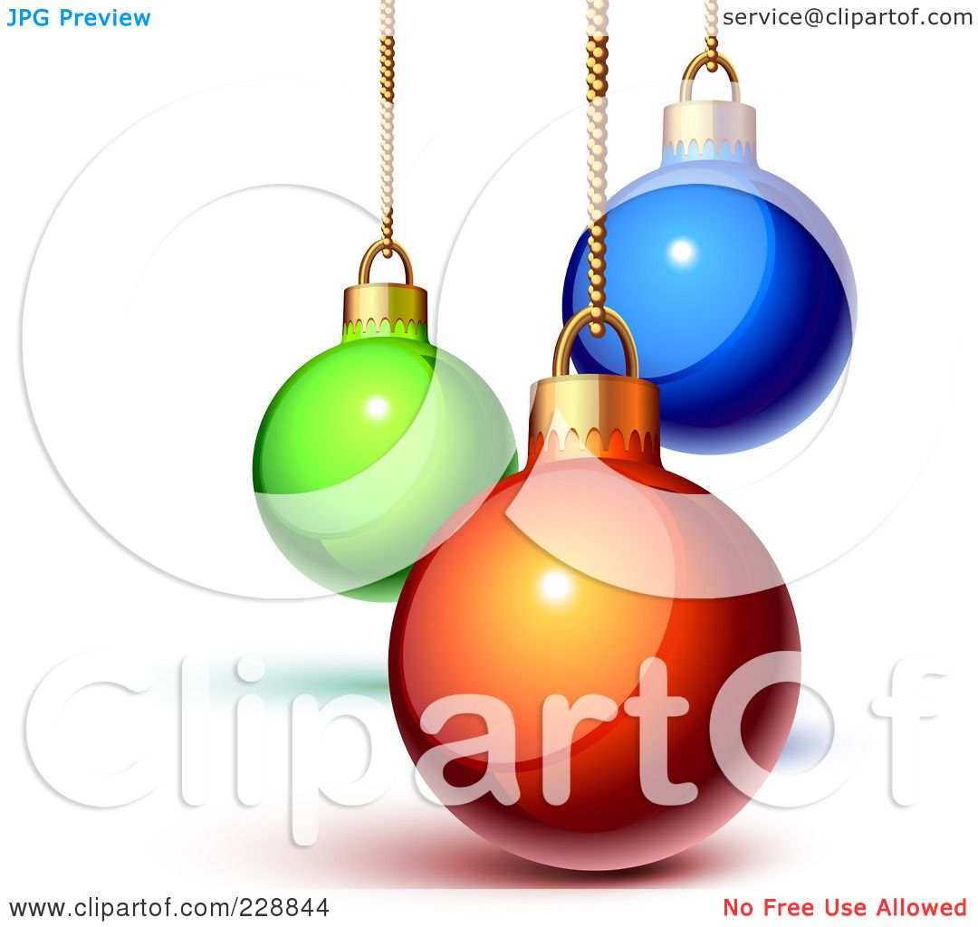 1080x1024 Christmas Ornaments Clipart Shiny