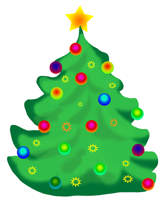 548x661 Christmas Tree Clip Art