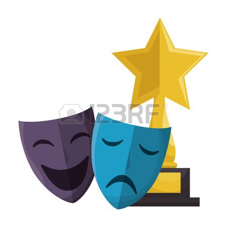 450x450 700 Movie Award Flat Icon Cliparts, Stock Vector And Royalty Free
