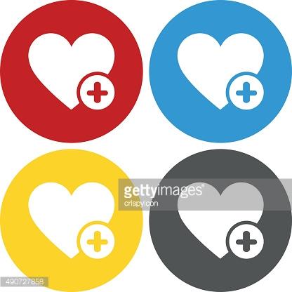 416x416 Circle Clipart Heart