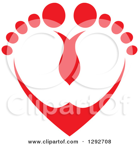 450x470 Feet And Toes Clipart