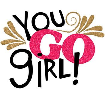 350x350 Graphics For Go Girl Clip Art Graphics
