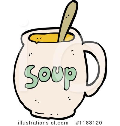 400x420 Soup Clipart