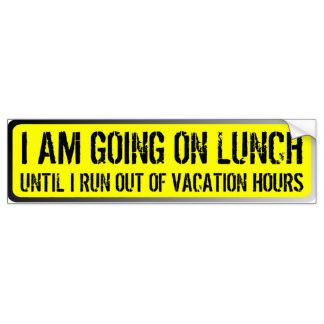 324x324 Lunch Bumper Stickers