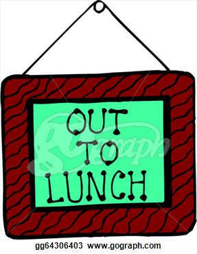 287x370 Out To Lunch Clipart