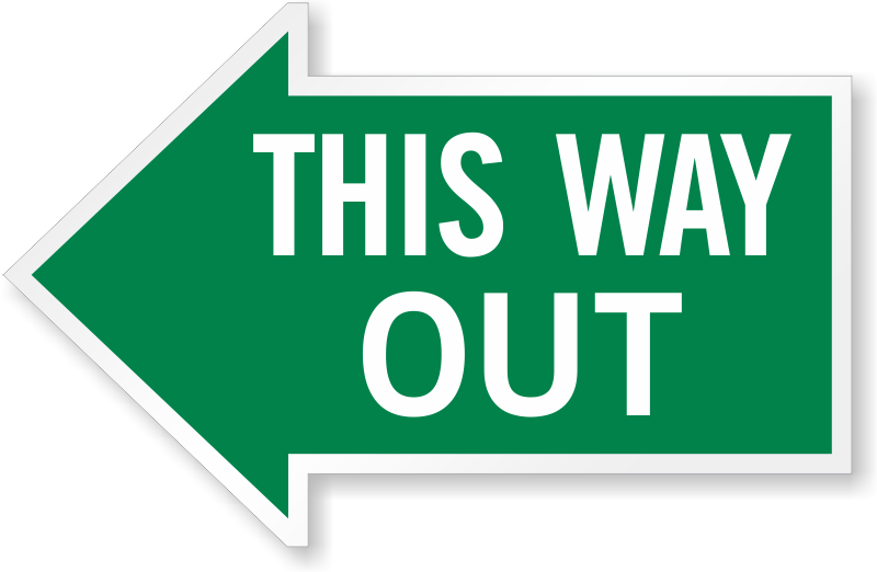 800x522 This Way Out Signs Exit Signs Glow Signs