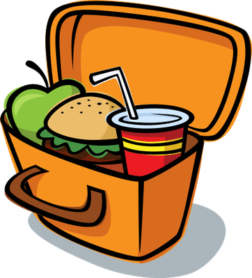 362x399 Lunch Box Printable Out To Lunch Sign Free Download Clip Art