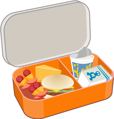 377x393 Lunch Clipart Transparent