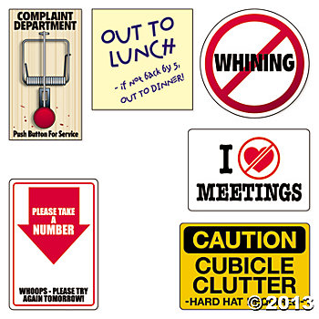 350x350 Office Humor Cubicle Signs Office Humor Office