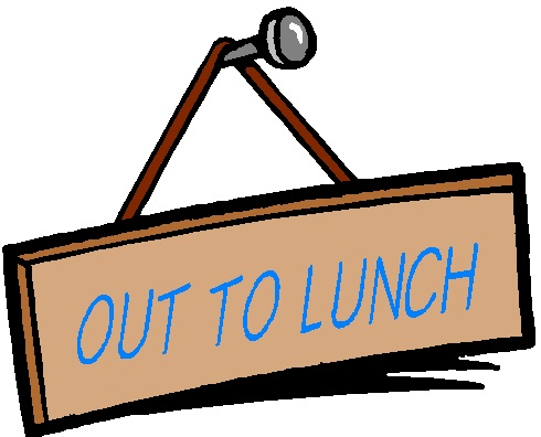 graphic regarding Printable Out to Lunch Sign titled Out In direction of Lunch Signs and symptoms Printable No cost obtain great Out Towards
