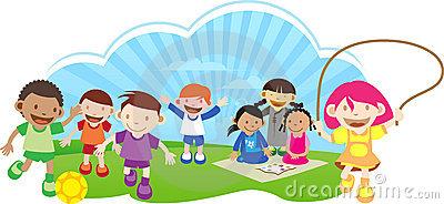 400x184 Outdoor Clipart Outdoor Play