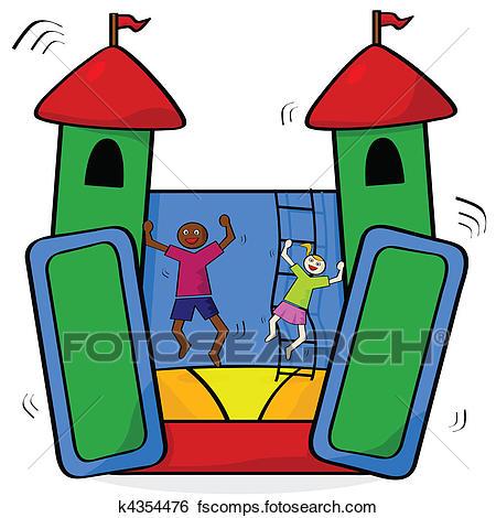 450x470 Bouncy Castle Clipart Royalty Free. 100 Bouncy Castle Clip Art