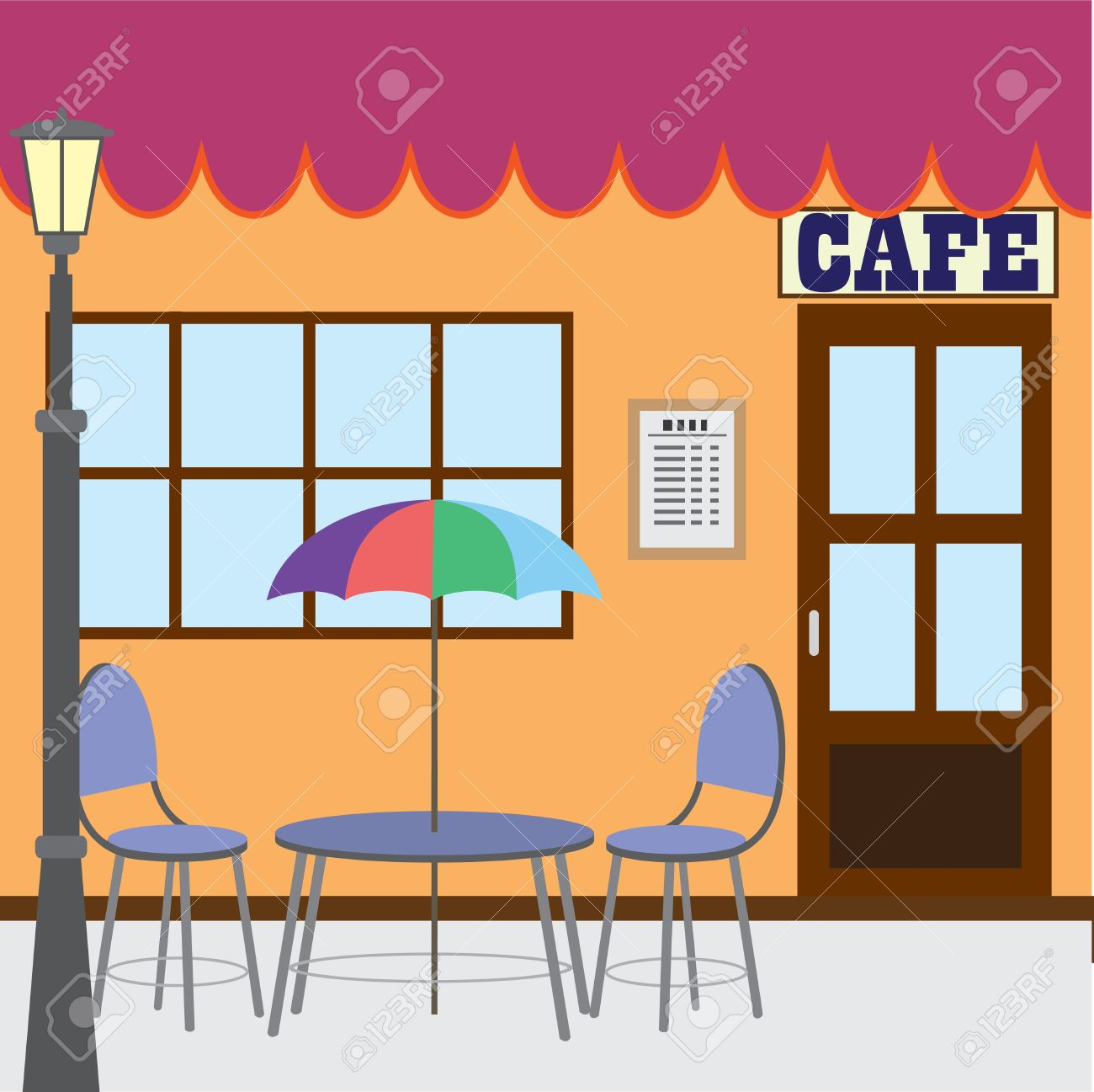 1300x1297 Restaurant Clipart Outdoor Cafe