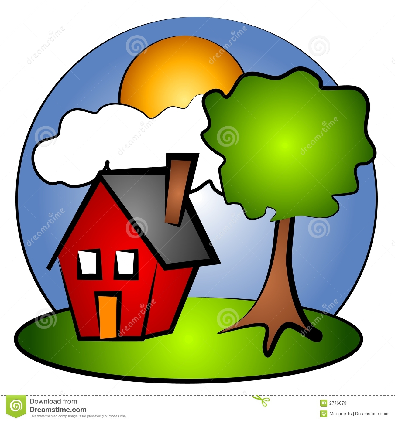 1300x1390 Rural Clipart Outdoor Scene