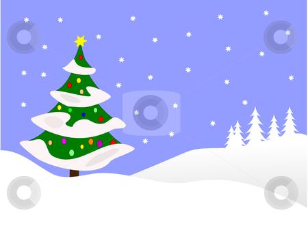 450x337 Snow Scene Clipart