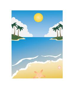 250x300 Beach Scene Clip Art
