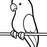150x150 How To Draw Birds For Kids Outline Drawings Of Birds Free Download