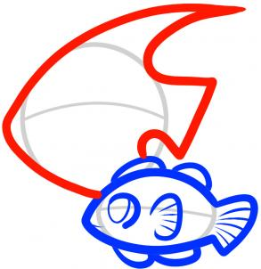 293x302 How To Draw How To Draw Fish For Kids