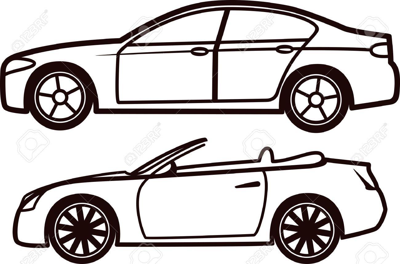 Outline Of A Car