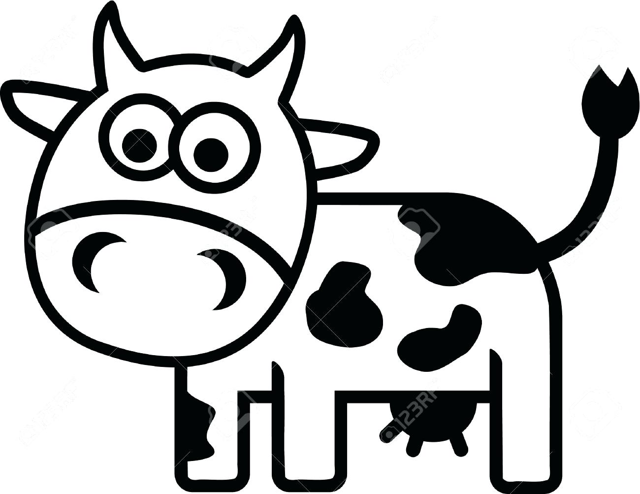 1300x1003 Cow Silhouette Stencil 12 Appealing Outline For Essay Sample