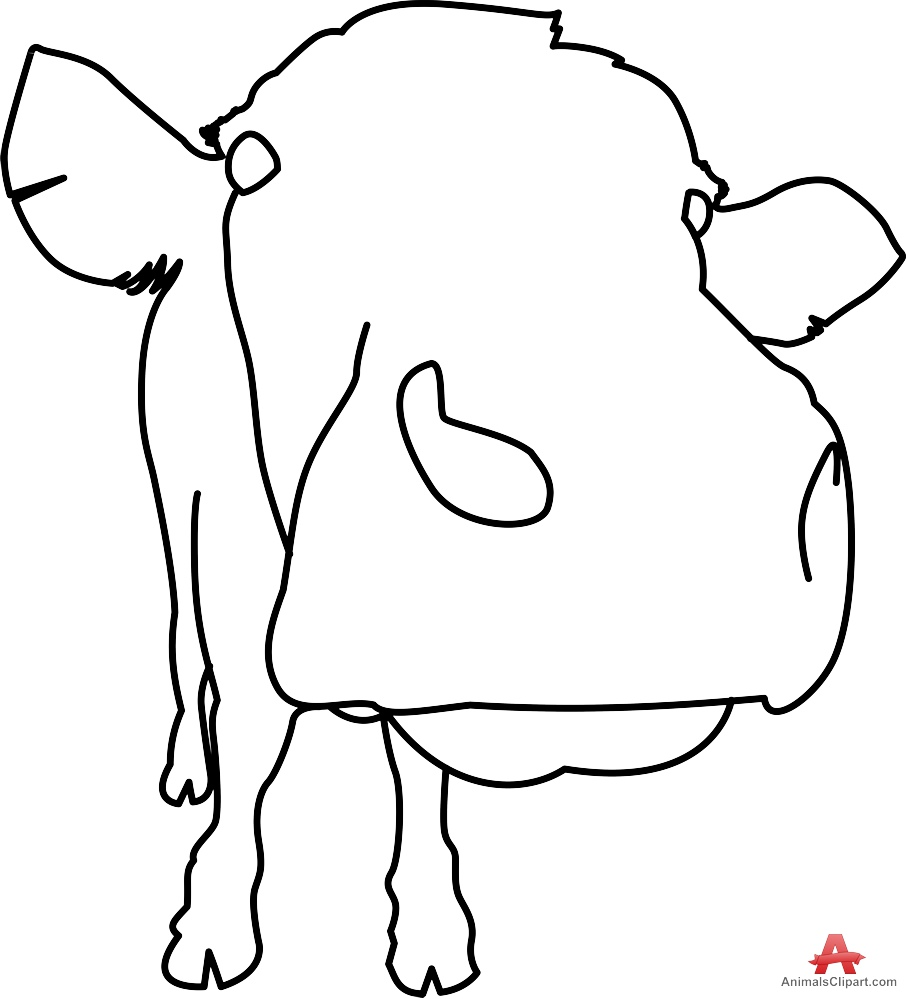 Outline Of A Cow | Free download best Outline Of A Cow on