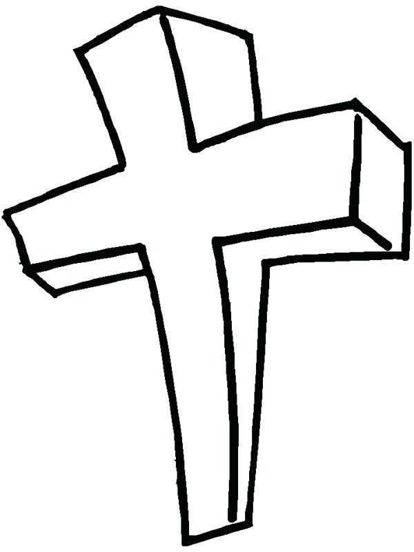 Outline Of A Cross Free Download Best Outline Of A Cross On