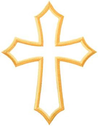 Outline Of A Cross | Free download best Outline Of A Cross