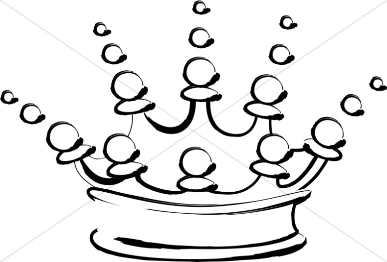 776x526 Outline Of Fancy Crown Crown Clipart