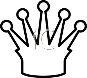 300x271 Black And White Outline Of A Crown