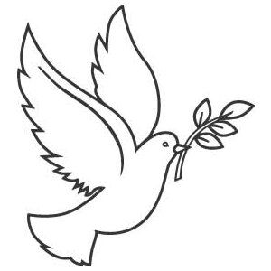 300x300 28 Best Dove Drawings Images Drawings, Art Clipart