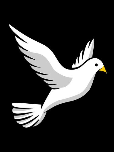 375x500 Dove Bird Outline Drawing Public Domain Vectors