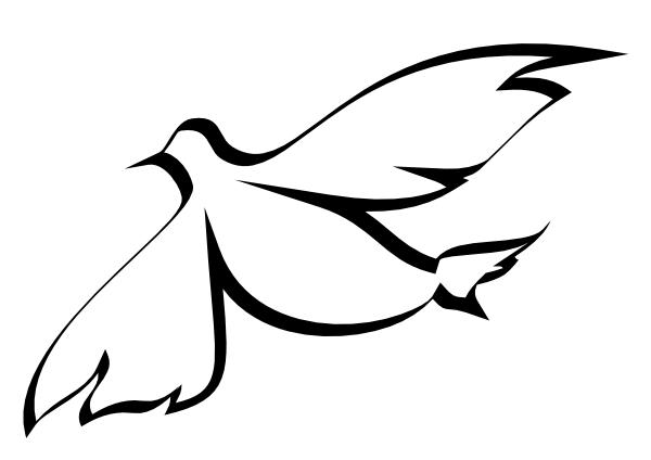 600x424 Free Clipart Dove