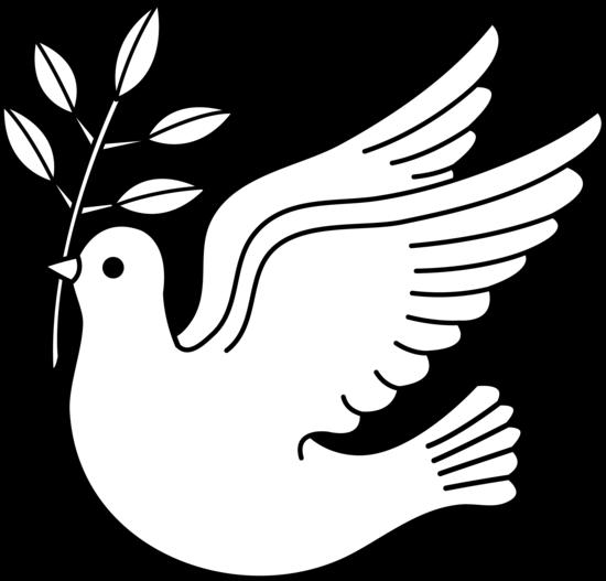 550x527 Pigeon Clipart Dove Outline