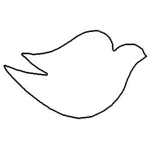 300x300 Cool Stencils To Cut Out Dove Of Peace, Christmas Dove, White