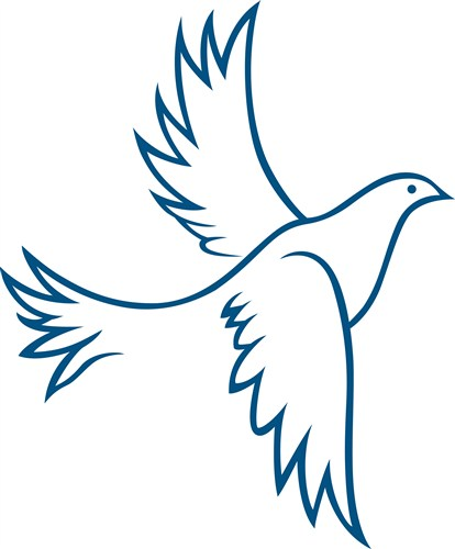 414x500 Best Dove Outline