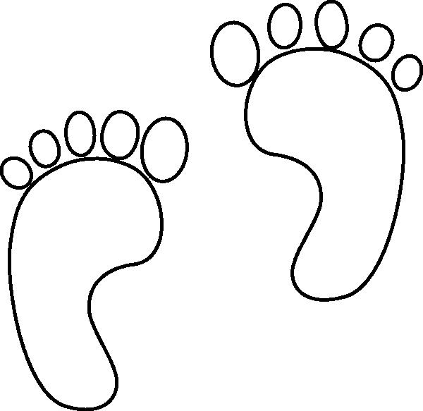 600x583 Bonobo Clipart Footprint