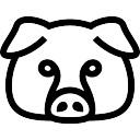 128x128 Pig Head Vectors, Photos And Psd Files Free Download